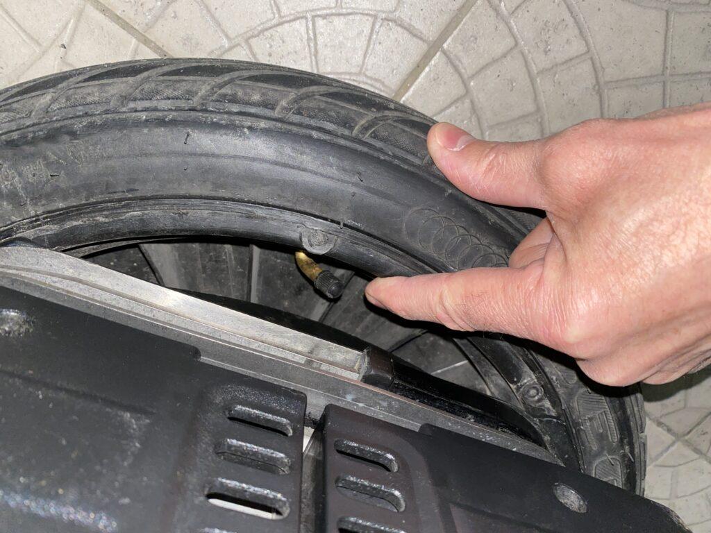 Segway Reifen, Segway Reifendruck